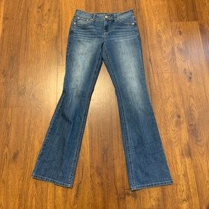 Maurices Jeans Straight Leg Size 9/10 Long